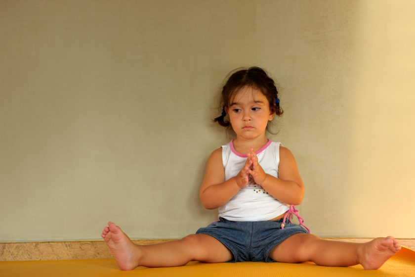 Kids yoga 5-10 years old